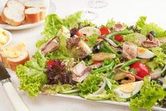 Salada Nicoise do atum Foto de Stock