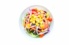 Salada no copo Foto de Stock Royalty Free
