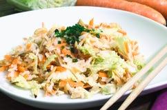Salada oriental do arroz Fotos de Stock Royalty Free