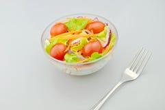 Salada para comer Imagem de Stock Royalty Free