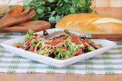 Salada para o almoço Fotos de Stock