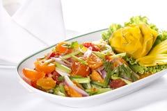 Salada picante fotografia de stock royalty free