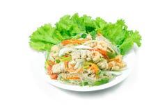 Salada picante da aletria Fotografia de Stock Royalty Free