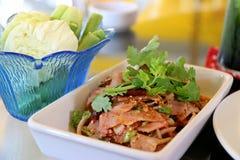Salada picante do bacon Foto de Stock