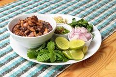 Salada picante dos berbigões Imagens de Stock