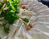 Salada profunda dos peixes dos arenques Imagem de Stock Royalty Free
