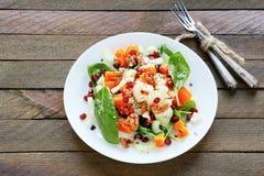 Salada saboroso com abóbora e aipo Imagem de Stock