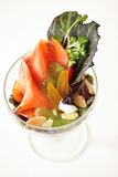 Salada Salmon Foto de Stock Royalty Free