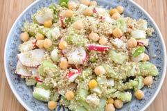 Salada saudável do Quinoa imagem de stock royalty free