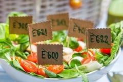 Salada saudável sem preservativos Fotos de Stock Royalty Free
