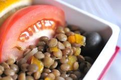 Salada saudável do vegetariano Imagens de Stock