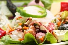 Salada of schaaf kase Royalty Free Stock Image