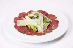 Salada secada da carne de porco Fotografia de Stock