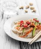 Salada tailandesa foto de stock royalty free