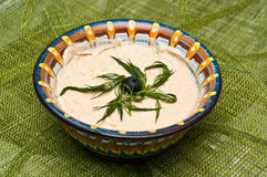 Salada tradicional das ovas duras Fotos de Stock Royalty Free
