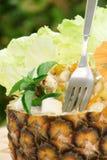 Salada tropical foto de stock royalty free