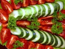 Salada vegetal 1 fotografia de stock royalty free