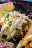 Salada vegetal Foto de Stock Royalty Free