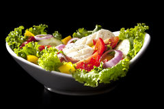 Salada vegetal luxuoso. Foto de Stock
