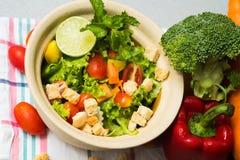 Salada verde _1 imagens de stock