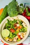 Salada verde _1 imagens de stock royalty free