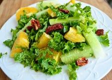 Salada verde fresca Foto de Stock Royalty Free