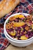 Salada vermelha da salada de repolho Foto de Stock