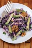 Salada vermelha da salada de repolho Imagens de Stock