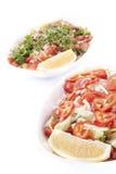 Saladas Imagens de Stock Royalty Free