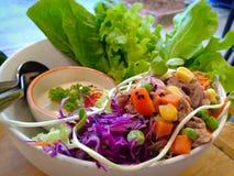 Saladas de atum fotos de stock royalty free