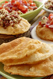 Saladas de los fritas de Tortas Imagen de archivo