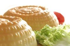 Saladas moldadas do gelatin Fotos de Stock