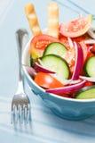 Salade à l'oignon Photos stock