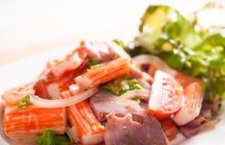 Salade épicée Images stock