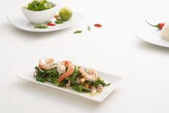 Salade épicée 1 de crevette Photographie stock libre de droits