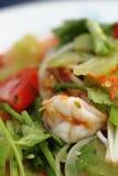 Salade épicée de crevettes Photos stock