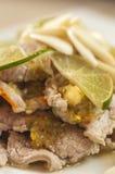 Salade épicée thaïe Photographie stock libre de droits