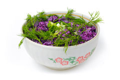Salade Ñauliflower Stock Foto's