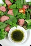 Salade 2 d'agneau Image libre de droits