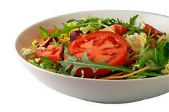 Salade (2) met het knippen van weg stock afbeeldingen