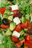 Salade 2 van de Kaas van feta Royalty-vrije Stock Afbeeldingen