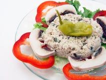 Salade 2 van de tonijn Royalty-vrije Stock Afbeelding