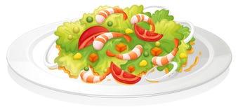 Salade vector illustratie
