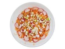 Salade aigre d'été photos stock