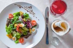Salade appétissante Photographie stock libre de droits