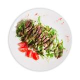 Salade avec de la viande photos libres de droits
