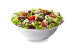 Salade avec du feta, la tomate et les légumes Images libres de droits