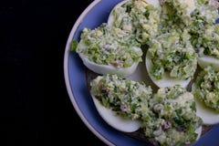 Salade avec l'oeuf et la mayonnaise Photos libres de droits