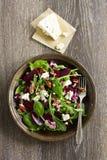 Salade avec la betterave, Image stock