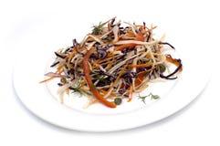 Salade avec le chou Photos libres de droits